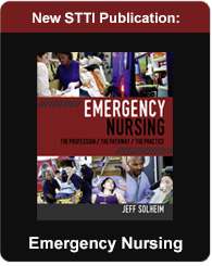 Emergency Nursing Book, published by STTI